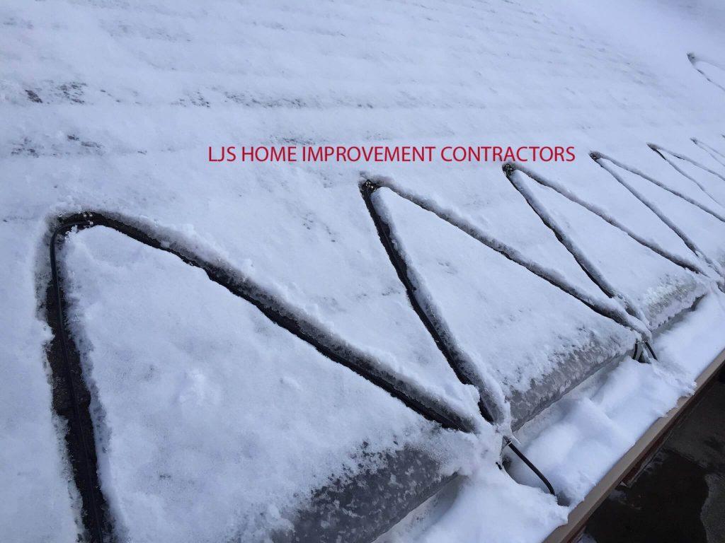 Heat Tape for Ice Dams