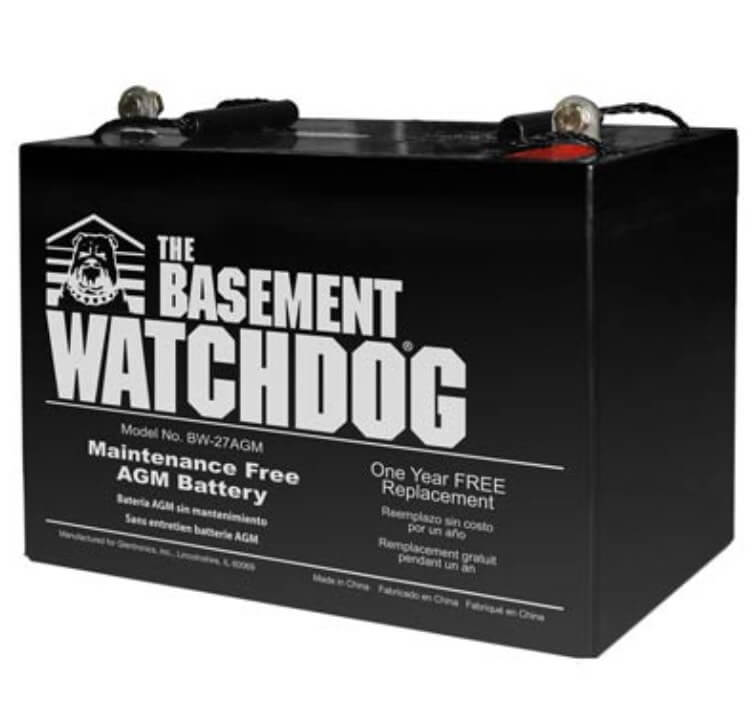 Sump Pump Battery Backup by Watchdog