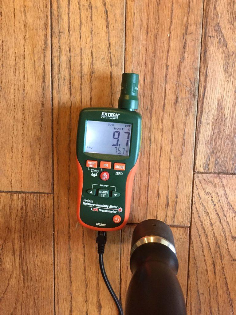Water Damage Moisture Tester